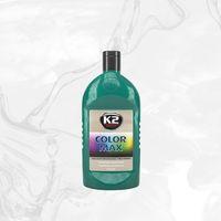 Wosk samochodowe, COLOR MAX 500 C.ZIELONY wosk koloryzujący nabłyszcza i chroni - 500ml