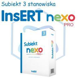 InsERT Subiekt Nexo PRO 3 stanowiska