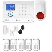 Zestawy alarmowe, Bezprzewodowy alarm gsm 3G + WiFi PG R5 + syrena bezprzewodowa 120 dB - PG R5 + syrena bezprzewodowa 120 dB
