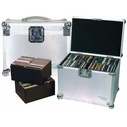 Rockcase RC-27341-A Flight Case - DJ Case for 120 CDs, futerał na płyty CD- 120 szt Płacąc przelewem przesyłka gratis!