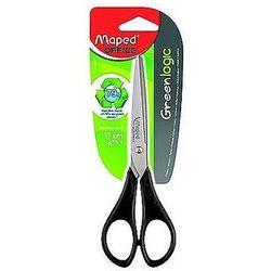 Nożyczki Essentials Green 17cm symetryczne Maped 468010