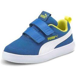 Puma Sneakersy Courtflex v2 Mesh V Inf 371759 07 Niebieski