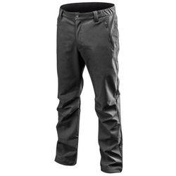 Spodnie robocze SOFTSHELL ocieplane czarne XXL NEO