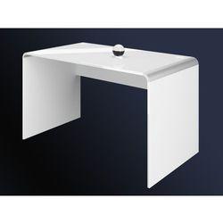 Biurko Milano białe 130 wysoki połysk