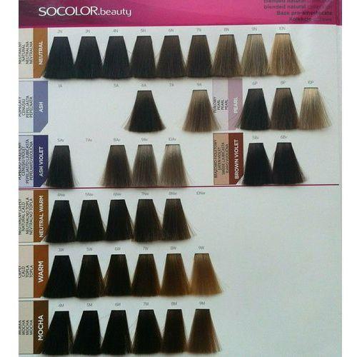 Farbowanie włosów, Matrix Socolor Beauty pielęgnująca farba do włosów odcień 5BC (Light Brown Brown Copper) 90 ml
