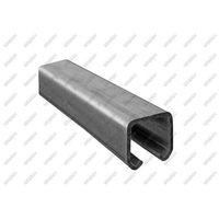 Przęsła i elementy ogrodzenia, Profil do bramy przesuvnej Zn, 42x54x2,5mm, L6m