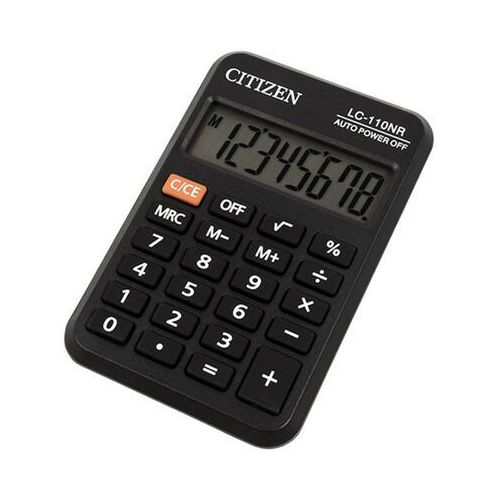 Kalkulatory, * kalkulator kieszonkowy * 8-pozycyjny wyświetlacz * zasilanie bateryjne * gumowe klawisze * etui * wymiary 58x87x12 mm * waga 40 g