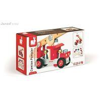 Zabawki z drewna, Janod Wóz strażacki do składania drewniany duży