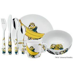 Zestaw obiadowy dla dzieci 7 el. WMF Minionki