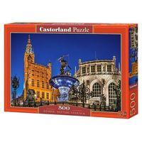 Puzzle, Puzzle 500 Gdańsk Neptune Fountain - Castor OD 24,99zł DARMOWA DOSTAWA KIOSK RUCHU