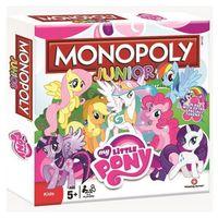 Gry dla dzieci, My Little Pony. Monopoly Junior - Winning Moves. DARMOWA DOSTAWA DO KIOSKU RUCHU OD 24,99ZŁ