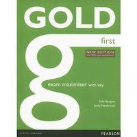 Książki do nauki języka, Gold First New Exam Maximiser With Online Audio With Key (opr. miękka)