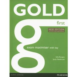 Gold First New Exam Maximiser With Online Audio With Key (opr. miękka)