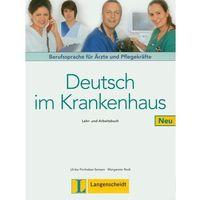 Książki do nauki języka, Deutsch Im Krankenhaus Neu Lehr- Und Arbeitsbuch (opr. miękka)