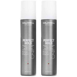 Goldwell StyleSign Perfect Hold Magic Finish   Zestaw: silnie utrwalający spray nabłyszczający 2x300ml