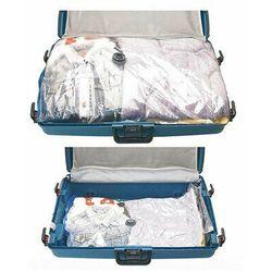Worki próżniowe na ubrania, pokrowce. 2 rozmiary toreb w komplecie: XXL i L.