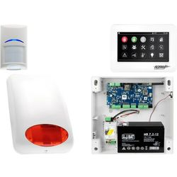 Alarm System Ropam NeoGSM-IP 1x Bosch TPR-4WS Sygnalizator Powiadomienie GSM