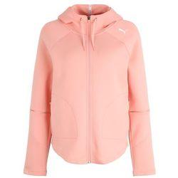 PUMA Bluza rozpinana sportowa 'Evostripe Move' różowy pudrowy / biały