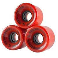 Pozostały skating, Kółka do fiszek 60 x 45mm- 4szt. czerwone