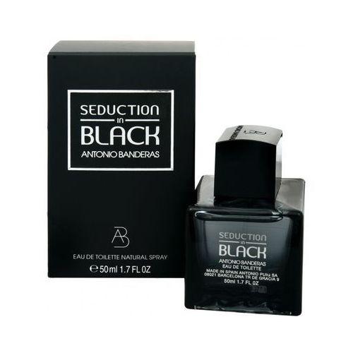 Wody toaletowe męskie, Antonio Banderas Seduction in Black Men 200ml EdT