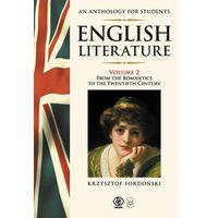 Literaturoznawstwo, English Literature An Anthology for Students (opr. broszurowa)