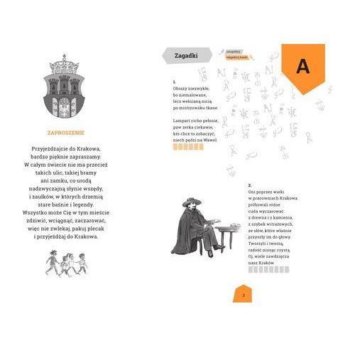 Książki dla dzieci, Zagadki wierszyki ciekawostki o Krakowie Krakusek (opr. broszurowa)