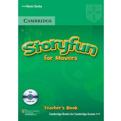 Książki do nauki języka, Storyfun for Starters, Movers, Flyers Movers Teacher's Book (książka nauczyciela) with Audio CDs (2) (lp) (opr. miękka)
