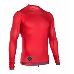 Lycra ION Rashguard Men L/S Red 2019