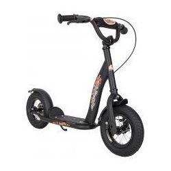 """Hulajnoga dla dzieci pompowane koła 10"""" BikeStar kolor czarny"""