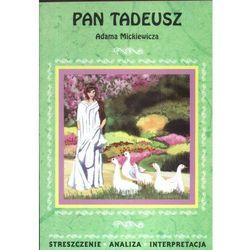 Pan Tadeusz Adama Mickiewicza (opr. miękka)