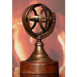 Mosiężne Astrolabium sferyczne COPERNICU