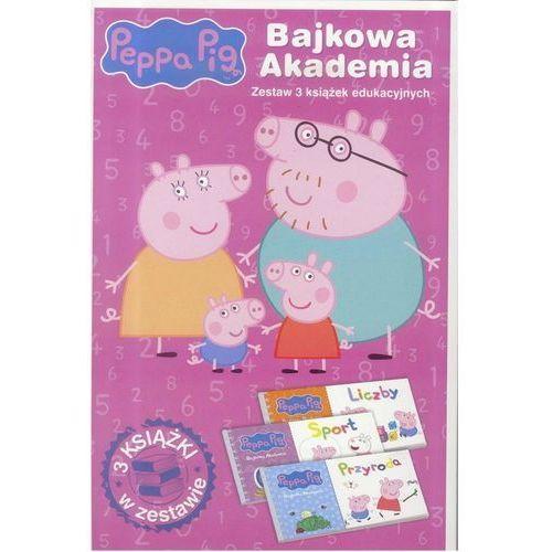 Pozostałe zabawki edukacyjne, Świnka Peppa - Bajkowa Akademia Nr.2 - Praca zbiorowa