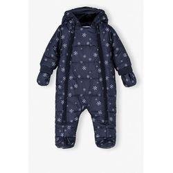 Kombinezon niemowlęcy w śnieżynki 5A4103 Oferta ważna tylko do 2031-10-22