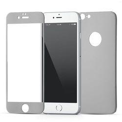 (EOL) Szkło Hartowane Na Cały Ekran i Obudowę iPhone 6S / 6 (Czarny)