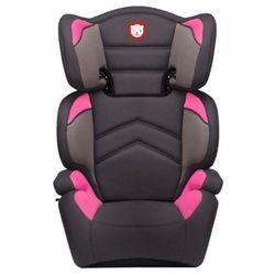 Lionelo fotelik samochodowy 15-36 kg Lars Plus różowy/szary