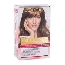 L´Oréal Paris Excellence Creme Triple Protection farba do włosów 48 ml dla kobiet 6,1 Natural Dark Ash Blonde