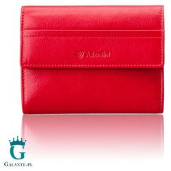 Mały damski portfel Valentini 154-264 Ferrari Red