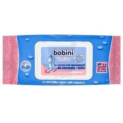 Bobini Baby chusteczki nawilżane dla dzieci i niemowląt 70 szt.
