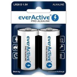 2 x baterie alkaliczne everActive Pro LR20 / D (blister)