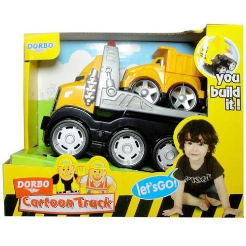 Ciężarówki dla dzieci, Zabawka SWEDE Ciężarówka laweta Q2299