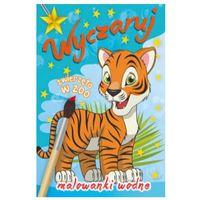 Książki dla dzieci, Malowanka wodna. Wyczaruj zwierzęta w zoo