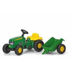 Rolly Toys Traktor Kid John Deere z Przyczepą - BEZPŁATNY ODBIÓR: WROCŁAW!