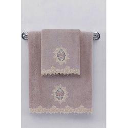 Mały ręcznik DESTAN 32x50cm Fioletowy / Lila