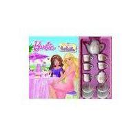 Książki dla dzieci, Barbie. popołudniowa herbatka (opr. kartonowa)