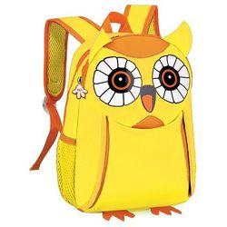Plecak neoprenowy Sowa żółty - Spokey