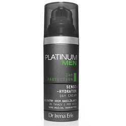 Dr Irena Eris Platinum Men SKIN COMFORT SENSI-HYDRATOR DAY CREAM Delikatny krem nawilżający do twarzy i pod oczy 50 ml