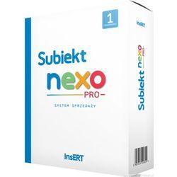 Subiekt nexo PRO - sprzedaż detaliczna i hurtowa, fakturowanie, zamówienia, towary, usługi, komplety, obsługa magazynów, rozrachunki