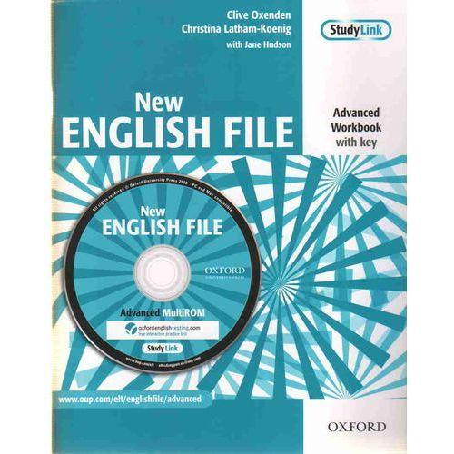 Książki do nauki języka, English File NEW Advanced WB With Key + CD OXFORD - Praca zbiorowa (opr. miękka)