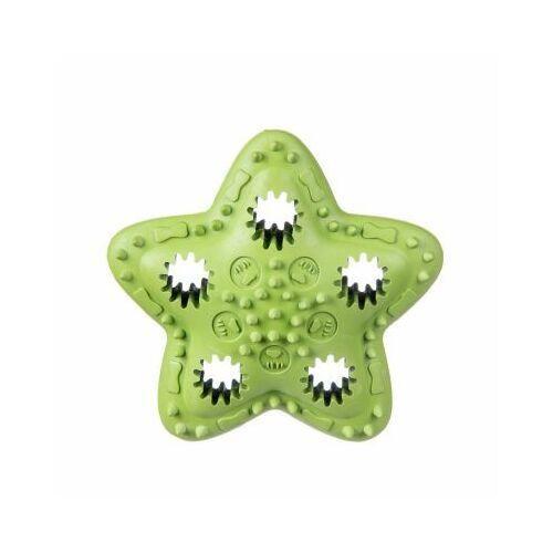 Pozostałe zabawki, Gwiazda kauczukowa na przysmaki - green