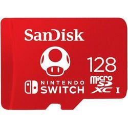 KARTA SANDISK NINTENDO SWITCH microSDXC 128 GB 100/90 MB/s V30 UHS-I U3